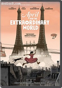 April and the Extraordinary World Cover