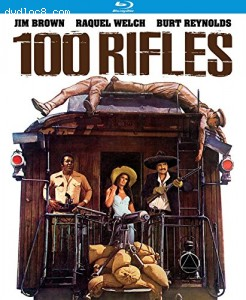 100 Rifles [Blu-ray] Cover