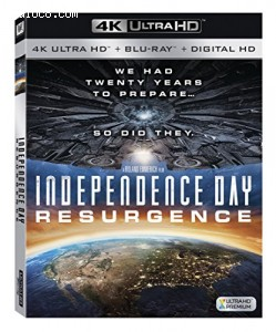 Independence Day Resurgence [4K Ultra HD + Blu-ray + Digital HD]