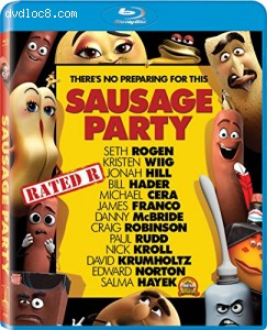 Sausage Party [Blu-ray] Cover