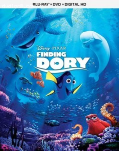 Finding Dory - [Blu-ray + DVD + Digital HD] Cover