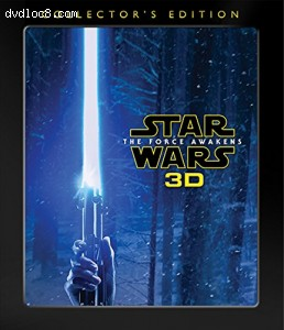 Star Wars: Episode VII - The Force Awakens - Collector's Edition [Blu-ray 3D + Blu-ray + DVD + Digital HD]