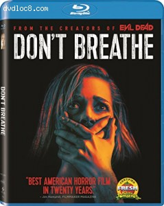 Don't Breathe [Blu-ray] Cover