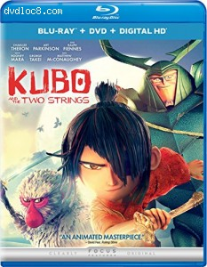 Kubo and the Two Strings [Blu-ray + DVD + Digital HD] Cover