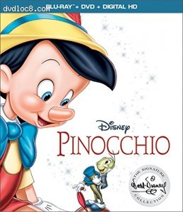 Pinocchio: Signature Collection [Blu-ray + DVD + Digital HD]