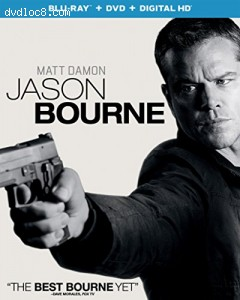 Jason Bourne [Blu-ray + DVD + Digital HD] Cover