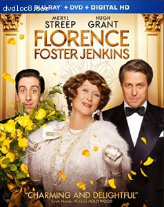 Florence Foster Jenkins [Blu-ray] Cover