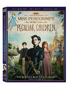 Miss Peregrine's Home for Peculiar Children (3D Blu-ray + Blu-ray + Digital HD)