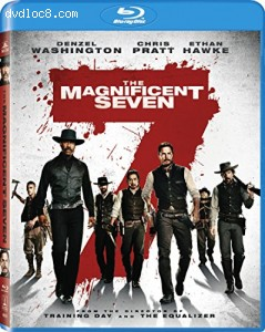 The Magnificent Seven [Blu-ray] Cover