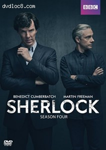 Sherlock: Series Four Cover