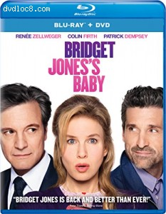 Bridget Jones's Baby [Blu-ray + DVD] Cover