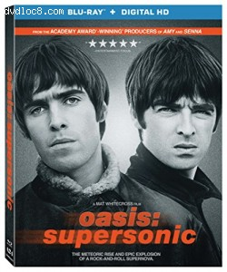 Oasis: Supersonic [Blu-ray + Digital HD] Cover