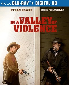 In a Valley of Violence (Blu-ray + Digital HD) Cover