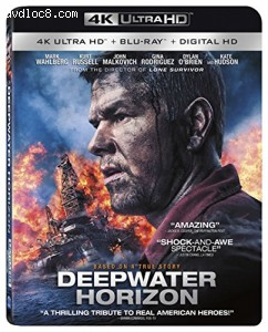 Deepwater Horizon [4K Ultra HD + Blu-ray + Digital HD] Cover