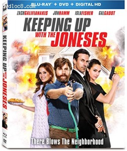 Keeping Up With The Joneses [Blu-ray + DVD + Digital HD]