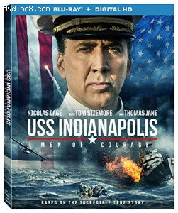 USS Indianapolis: Men Of Courage [Blu-ray + Digital HD] Cover