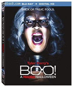 Tyler Perry's Boo! A Madea Halloween [Blu-ray + Digital HD] Cover