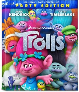 Trolls [Blu-ray + DVD + Digital HD]