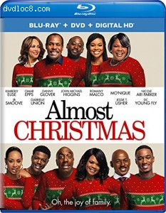 Almost Christmas [Blu-ray + DVD + Digital HD] Cover