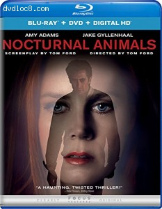 Nocturnal Animals (Blu-ray + DVD + Digital HD) Cover