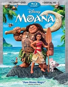 Cover Image for 'Moana [Blu-ray + DVD + Digital HD]'