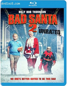Bad Santa 2 [Blu-ray] Cover