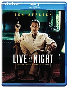 Live By Night [Blu-ray + Digital HD] Cover
