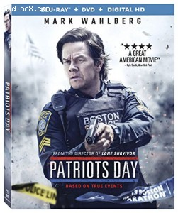 Patriots Day [Blu-ray + DVD + Digital HD] Cover