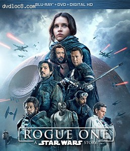 Rogue One: A Star Wars Story [Blu-ray + DVD + Digital HD]