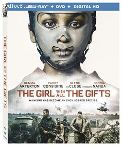 The Girl With All The Gifts [Blu-ray] Cover