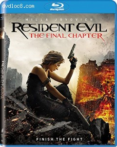Resident Evil: The Final Chapter [Blu-ray] Cover