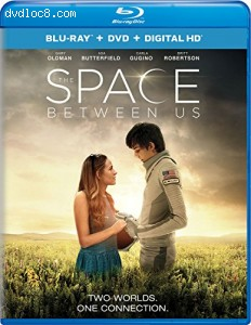 The Space Between Us [Blu-ray + DVD + Digital HD] Cover