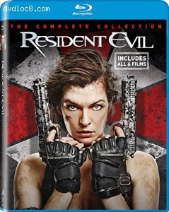 Resident Evil The Complete Collection [Blu-ray] Cover