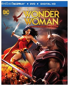 Wonder Woman: Commemorative Edition [Blu-ray + DVD + Digital HD] Cover