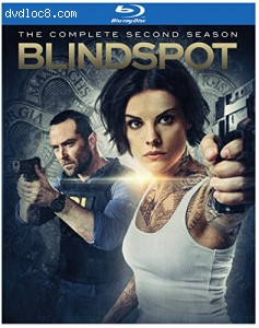 Blindspot: The Complete Second Season [Blu-ray] Cover