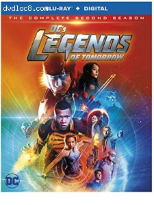 DC's Legends of Tomorrow: The Complete Second Season [Blu-ray] Cover