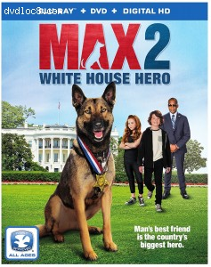 Max 2 [Blu-ray + DVD + Digital HD] Cover