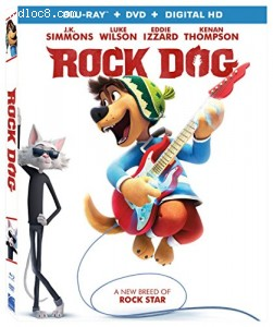 Rock Dog [Blu-ray + DVD + Digital HD] Cover