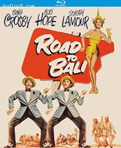 Road to Bali [Blu-ray] Cover