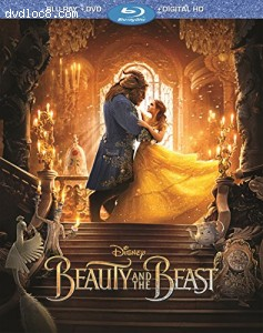 Cover Image for 'Beauty And The Beast [Blu-ray + DVD + Digital HD]'