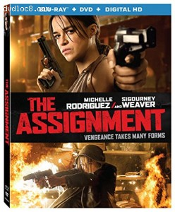 The Assignment [Blu-ray + DVD + Digital HD] Cover