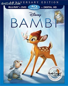 Bambi: Signature Collection [Blu-ray + DVD + Digital HD]