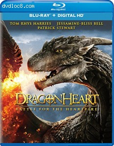 Dragonheart: Battle for the Heartfire [Blu-ray + Digital HD] Cover
