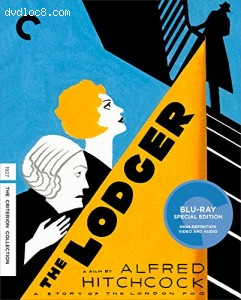 Lodger, The: A Story of the London Fog (The Criterion Collection) [Blu-ray] Cover