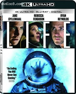 Cover Image for 'Life [4K Ultra HD + Blu-ray + Digital HD]'