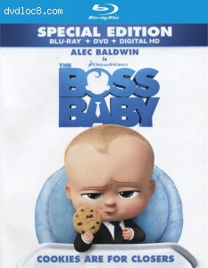 Cover Image for 'Boss Baby [Blu-ray + DVD + Digital HD]'