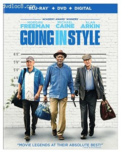 Going in Style [Blu-ray + DVD + Digital]