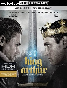 Cover Image for 'King Arthur: Legend of the Sword [4K Ultra HD + Blu-ray]'