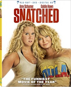 Snatched [Blu-ray + DVD + Digital HD] Cover