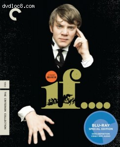 If.... (The Criterion Collection) [Blu-ray] Cover
